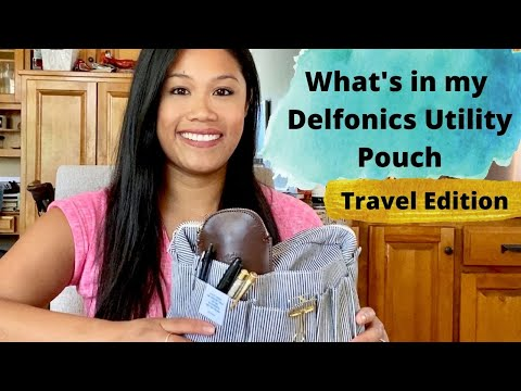 What's In My Delfonics Pouch || Travel Edition