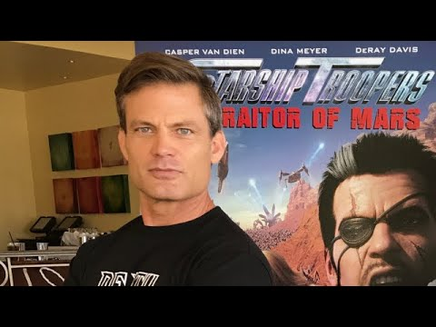 Casper Van Dien's Most Memorable 'Starship Troopers' Fan Experience