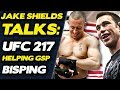 "Jake Shields on Helping GSP Prepare for Bisping: His Takedown is ""The Best Shot in the Sport"""