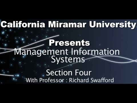 Management Information Systems - Lesson Four