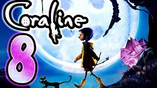 Coraline Walkthrough Part 8 ~ Movie Game (Wii) [8 of 10]