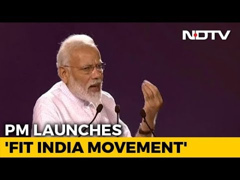 PM Modi Launches Fit India Campaign On National Sports Day Mp3