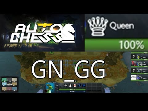 DOTA AUTO CHESS - QUEEN GAMEPLAY with COMMENTARY / CHALLENGE GAME 3 UNCALIBRATED /  NEVER LUCKY