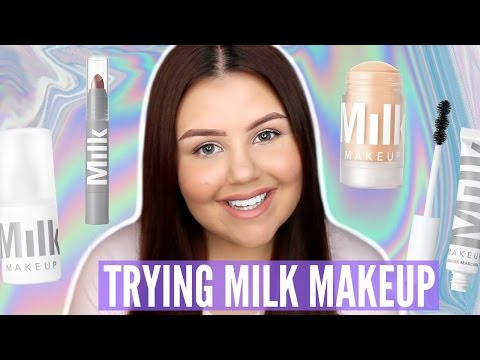 Milk Makeup Try-On Haul | Blur Stick, Eye Pigment AND MORE!