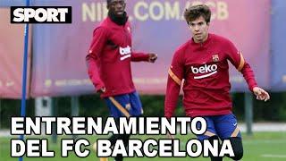 EL ENTRENAMIENTO DEL FC BARCELONA para preparar EL PARTIDO DE LIGA ANTE EL SEVILLA 🏋
