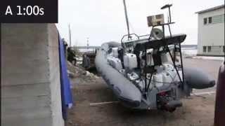 Solas Testing Ullman Seats Multipurpose Fast Rescue Boats