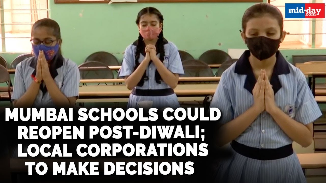 Download Mumbai schools could reopen post-Diwali; local corporations to make decisions