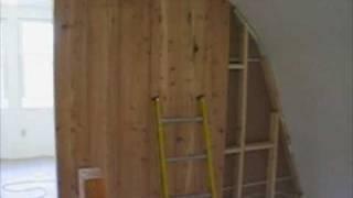 Amish Built Off-grid Cabin Project - Pt 3