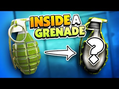WHAT'S INSIDE A GRENADE? - Disassembly VR