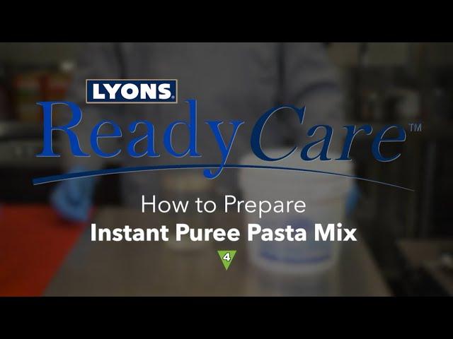 How to Prepare Instant Puree Pasta Mix