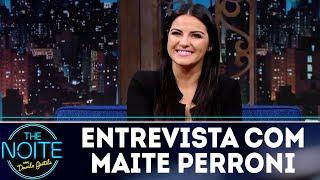 Baixar Entrevista com Maite Perroni | The Noite (02/07/18)