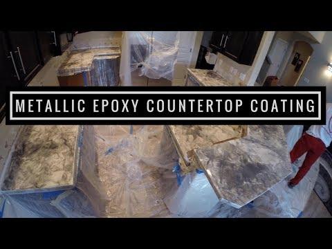 Metallic Epoxy Countertop Coating | Leggari Products Countertop Kit