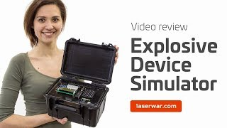 Explosive device Simulator for laser tag games (Video review) screenshot 4