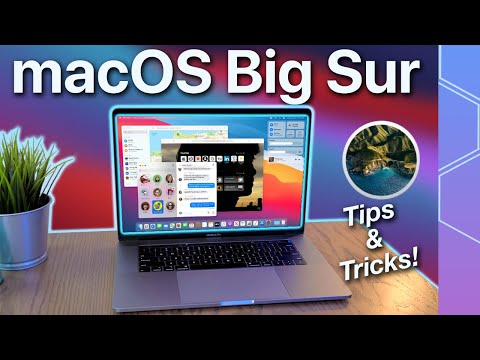 macOS Big Sur Tips & Tricks for beginners! Here are the coolest new features!