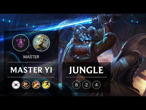 Master Yi Jungle vs Xin Zhao - KR Master Patch 9.2