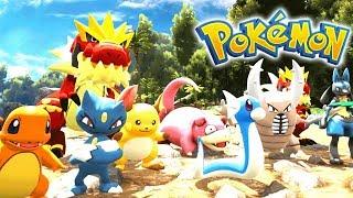 THE POKEMON ARMY! (ARK Pokemon) w/Meola