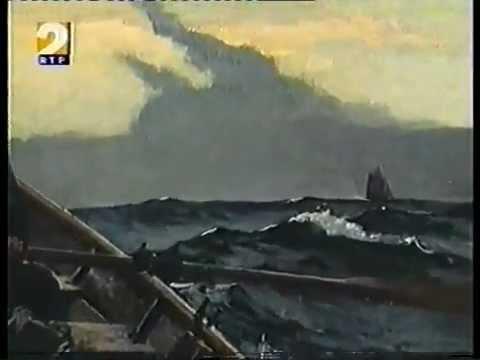 Gloucester HarborWalk 29 24 40 : Winslow Homer Portuguese Cod Fishing Dory Baited Fishing Line