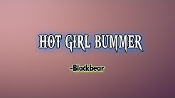 Blackbear - hot girl bummer (Lyrics) | Dodo lyrics