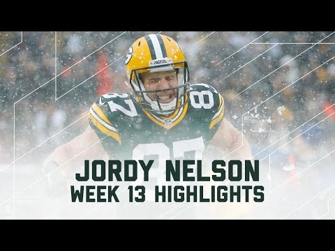 Jordy Nelson Racks Up 118 Yards & 1 TD | Texans vs. Packers | NFL Week 13 Player Highlights