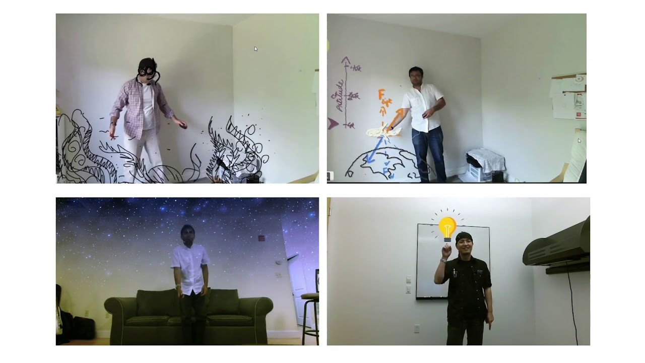 Interactive Body-Driven Graphics for Augmented Video Performance