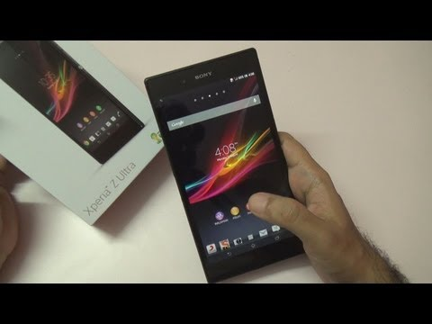 Sony Xperia Z Ultra Review Videos