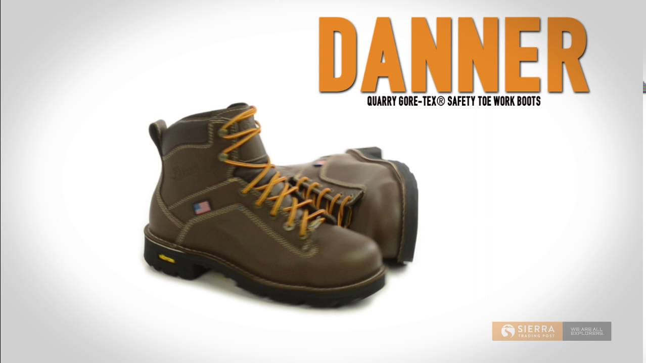 Danner Quarry Gore-Tex® Safety Toe Work Boots - Waterproof ...