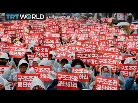 South Korean union protests GM plant closure | Money Talks
