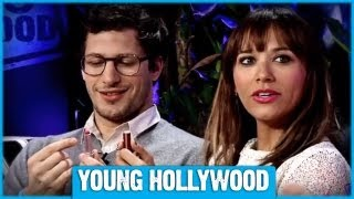 Andy Samberg & Rashida Jones on Dating, Butt-Dialing, & Bieber
