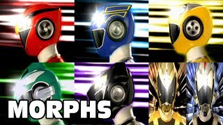 Power Rangers RPM - All Ranger Morphs   Episodes 1-32   It's Morphin Time   Superheroes