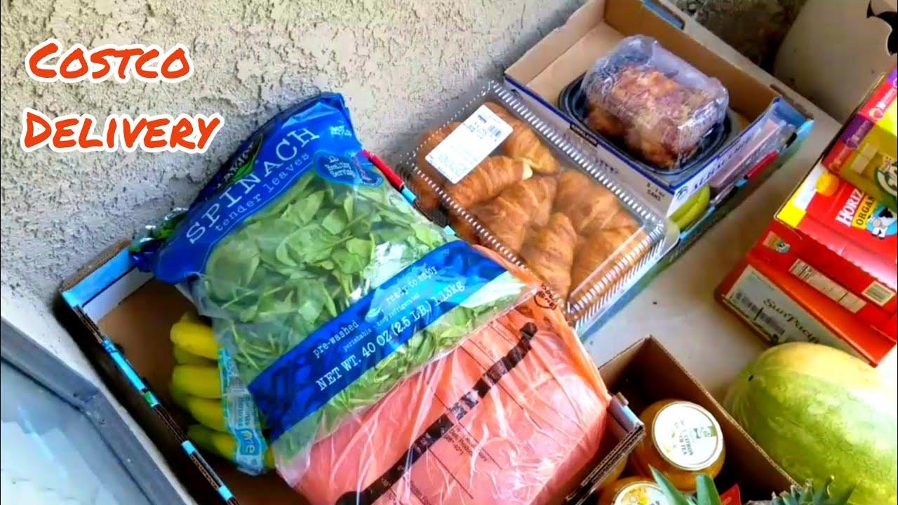 Mua đồ ăn Costco giao tận nhà    Costco delivery    Jennifer Huynh vlog