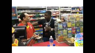 Blac youngsta buys a store!