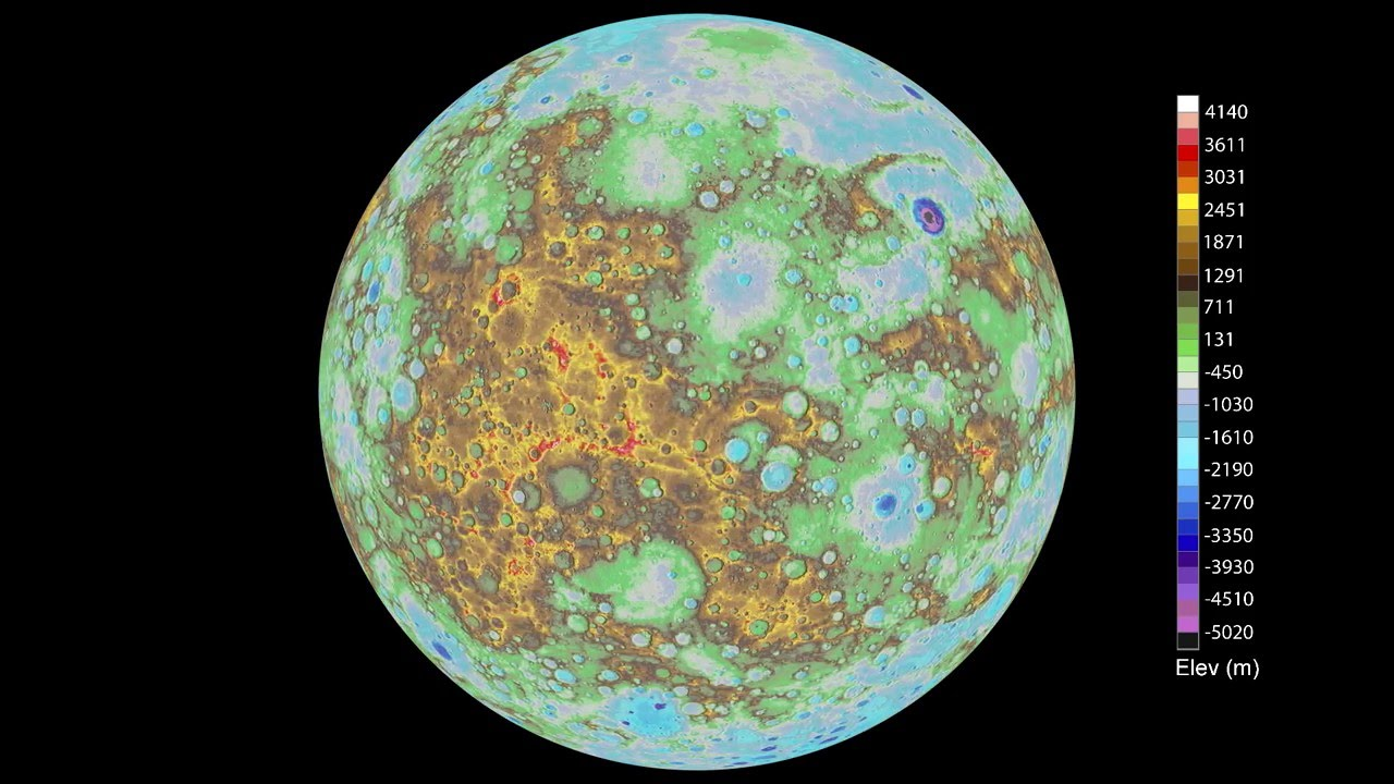 enhanced color mercury map nasa solar system exploration - 1280×720