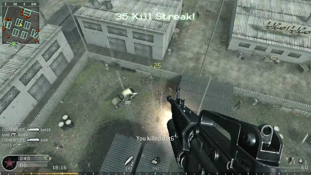 pezbot call of duty 4