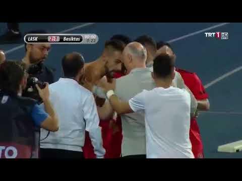 Beşiktaş - Lask Linz Álvaro Negredo ' nun Beşiktaşa turu getirdiği gol !