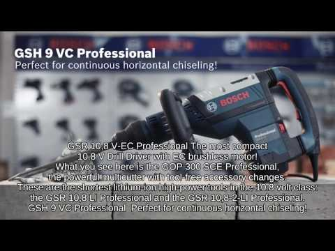 Bosch Demolition Hammer with SDS Max GSH 9 VC Professional