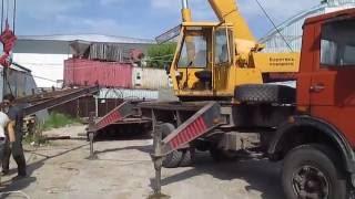 Mobil crane Ivanovets KS-3577