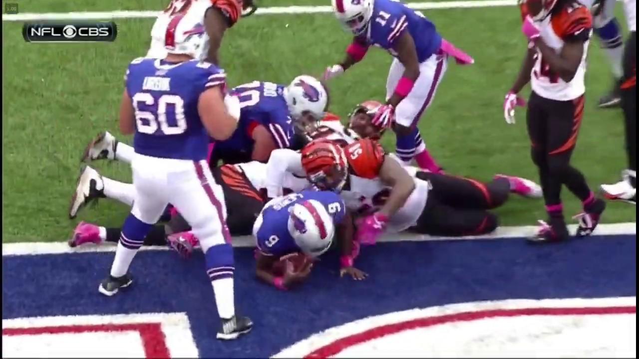Thad Lewis TD - Bengals vs. Bills, 10/13/13