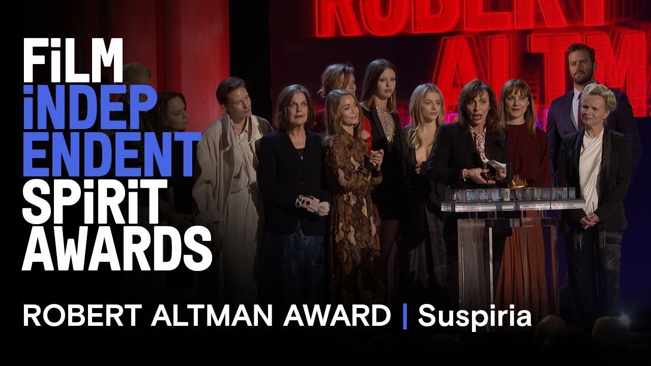 SUSPIRIA wins the Robert Altman Award at the 2019 Film Independent Spirit Awards