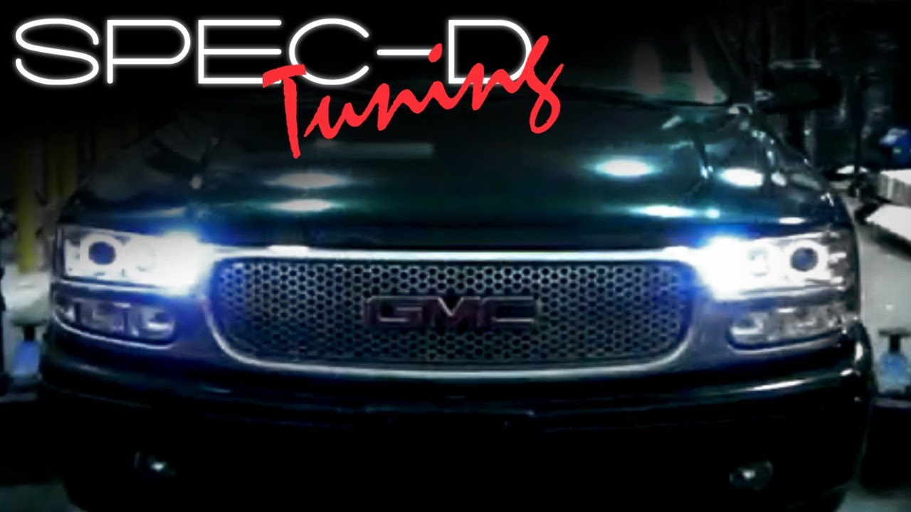 Specdtuning Installation Video 2000 2006 Chevy Yukon