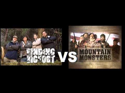 Finding Bigfoot VS Mountain Monsters