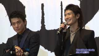 マンガ家の松本零士さん(75)が9月7日、東京都内で行われた劇場版アニ...
