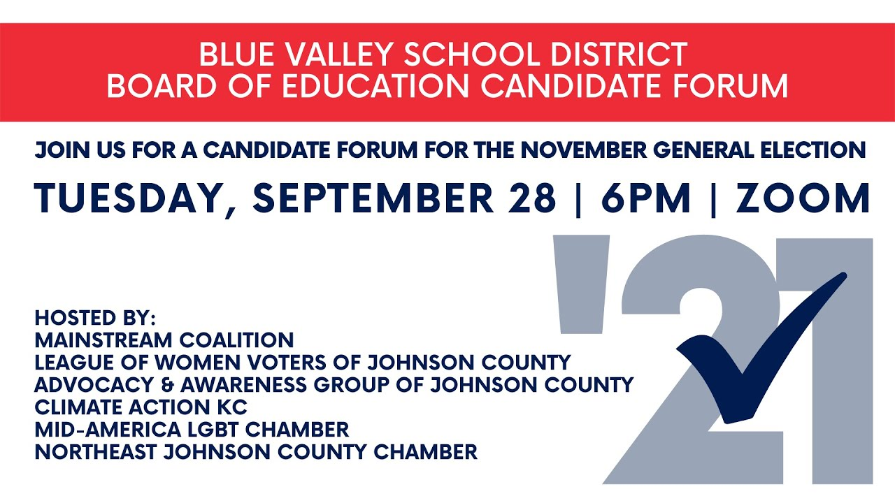 Gina Knapp for Blue Valley School Board talks about her priorities for the district