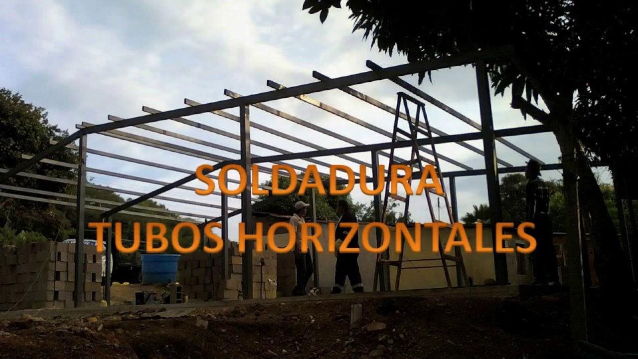 Casas con estructuras en hierro youtube - Estructuras de hierro para casas ...