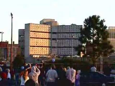 baptist memorial hospital implosion memphis,tn