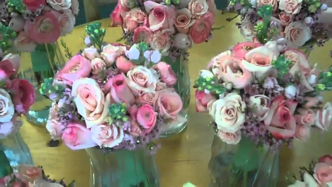 Pink white wedding flowers for villanova pa youtube pink white wedding flowers for villanova pa mightylinksfo