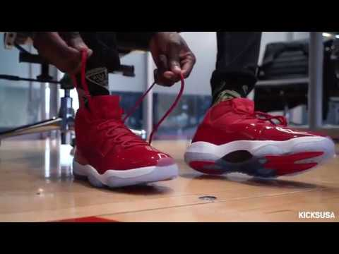 52f2d3ce99c Air Jordan 11 'Win Like '96' ON FOOT Review | Kicks and Fits - YouTube