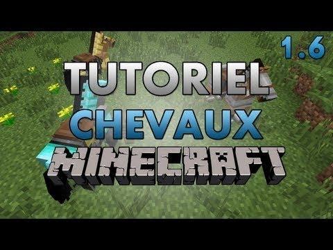 Apprivoiser et monter un cheval minecraft youtube - Cheval minecraft ...