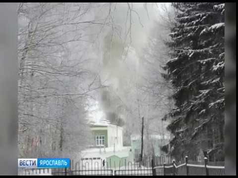 В санатории «Красный холм» произошел пожар