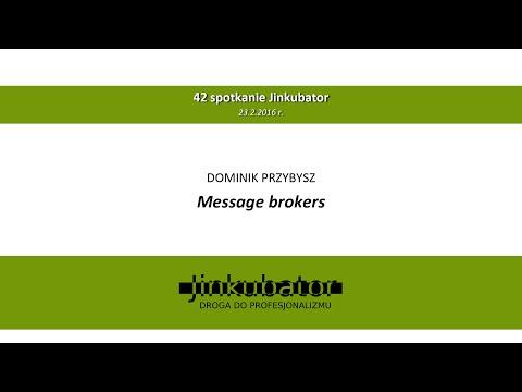 Jinkubator #42 - Message brokers - Dominik Przybysz