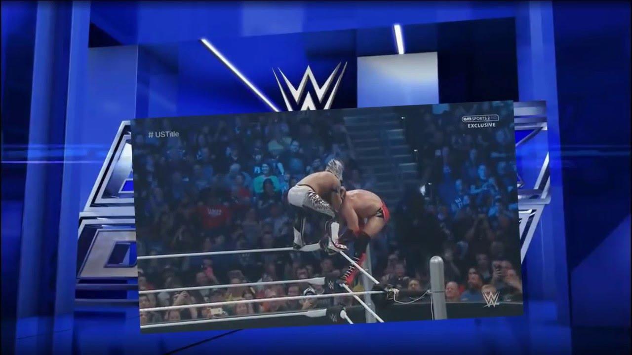 Download WWE Smackdown 1/28/16: Kalisto vs Neville - US Champion - Full Match
